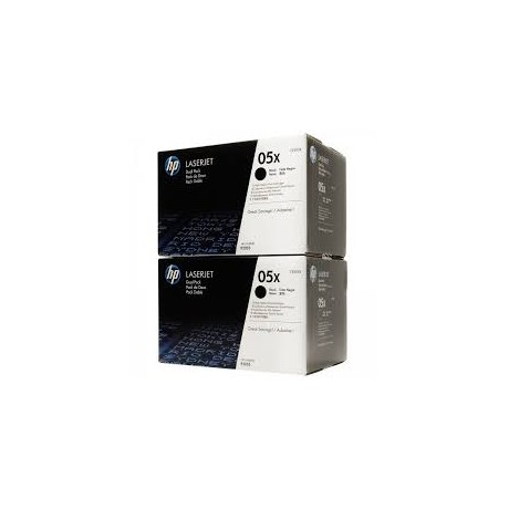 Toner HP 05XD  Dual Pack  Noir
