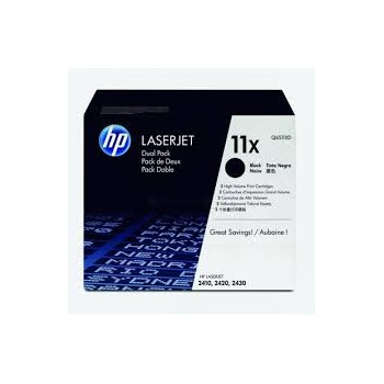 Toner HP 11XD Dual Pack  Noir