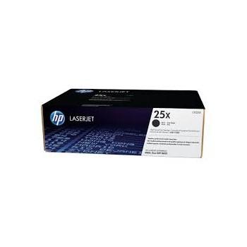 Toner HP 25 X  Noir