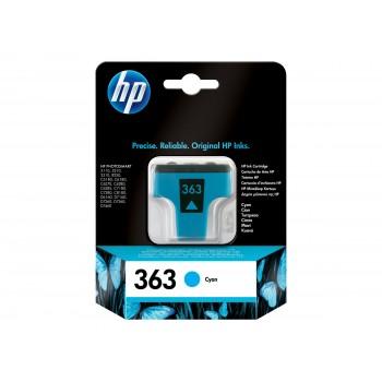 Cartouche HP 363 - Cyan