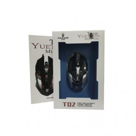 Souris filaire gamer t02
