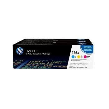 Toner HP 125A  CYM Tri Pack