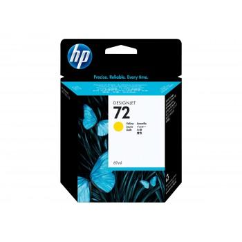 Cartouche HP 72 - Jaune