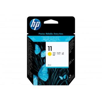 Cartouche HP 11 - Jaune