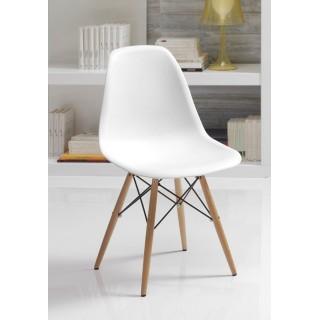 Chaise blanche scandinave YNI
