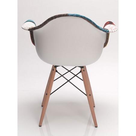 Chaise Tissu Patchwork avec...