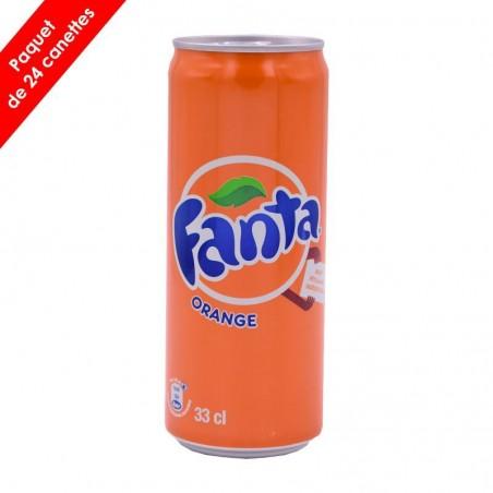 Canette de Fanta Orange...