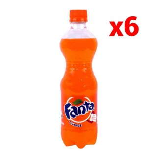 Fanta Orange - Pack de 6x50cl