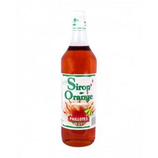 Sirop Paillotes d'orange - 1 L