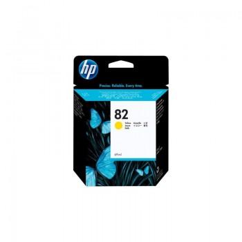 Cartouche HP 82 - Jaune