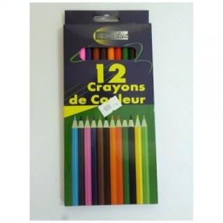 CRAYON DE COULEUR LONG 7CM...