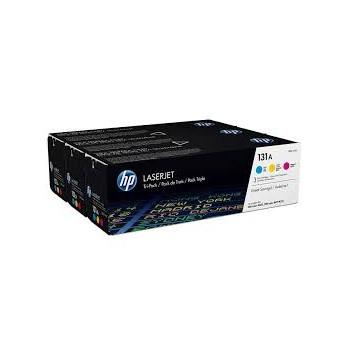 Toner HP 131 A Tri Pack...