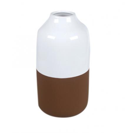 Vase décoratif Blanc et...