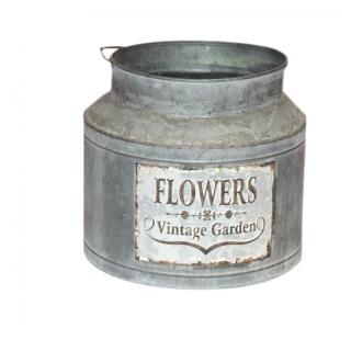 Pôt de fleur vintage Seau...