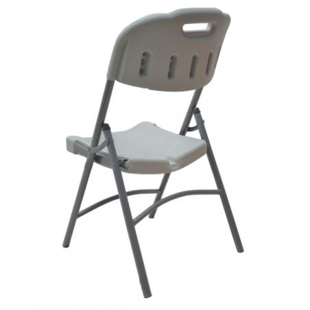 Chaise pliante plastique et...