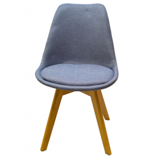 Chaise scandinave – Gris