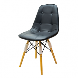 Chaise scandinave dossier...