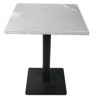 table carrée en marbre-...