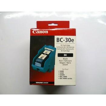 Cartouche CANON BC30e noir...
