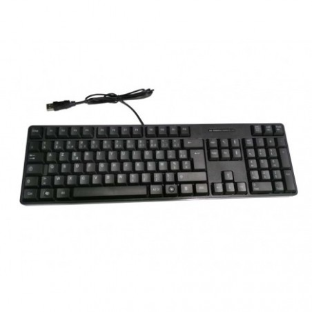 CLAVIER USB AZERTY FILAIRE STANDARD