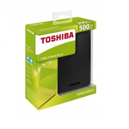DISQUE DUR EXTERNE 500 GB TOSHIBA