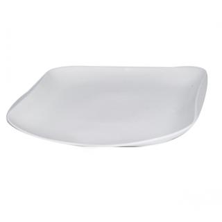 Assiette en porcelaine blanc