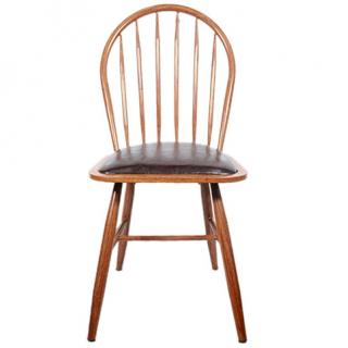 Chaise en bois old style vintage
