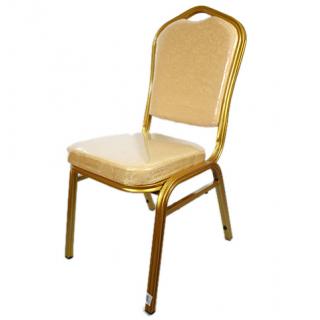 Chaise présidentielle qualité supérieure or