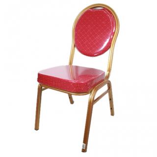 Chaise présidentielle qualité supérieure rouge