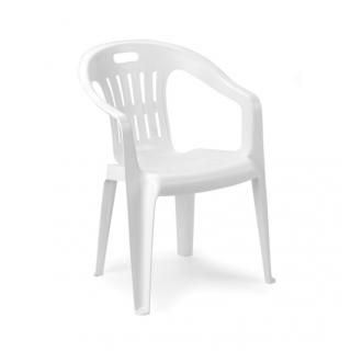 pro garden piona chaise blanche