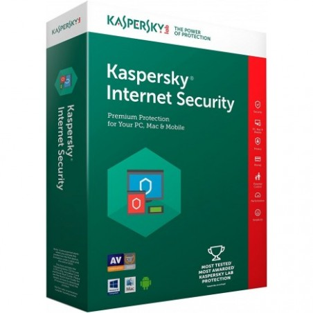 KASPERSKY INTERNET SECURITY 2019 2 PC
