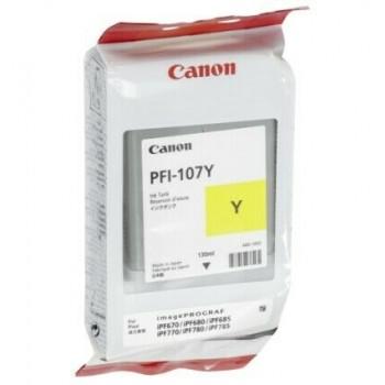 Cartouche CANON PFI107Y Yellow
