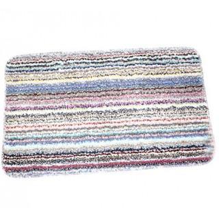 Tapis de bain Anti dérapant 70X45 Cm à rayure