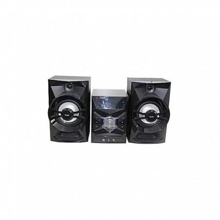 Ilux Mini Chaine Ilux 200W - Bluetooth - Compatible DVDVCDCDWMACD-RRW - USB - Noir