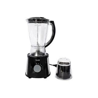 Ilux Blender & Grinder LX-315 - 2 En 1 - 1.5 L - 4 Vitesses - Noir