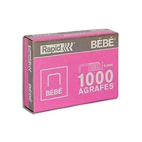 AGRAFES BB CU 1000 (BOITE ROSE)