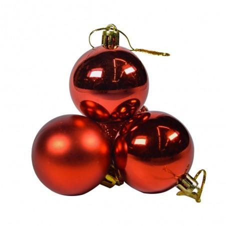 Boule de Noël pour sapin- Lots de 20 boules