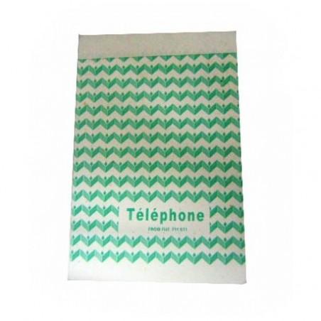 BLOC TELEPHONE 10x100 FEUILLES