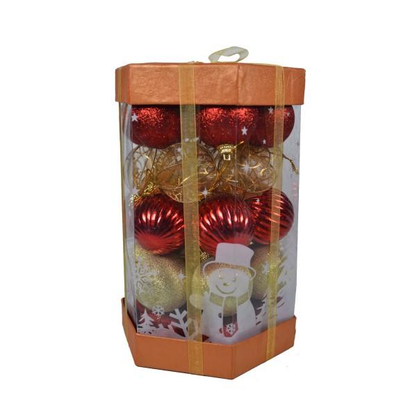 Boule de Noël pour sapin- Lots de 25 boules