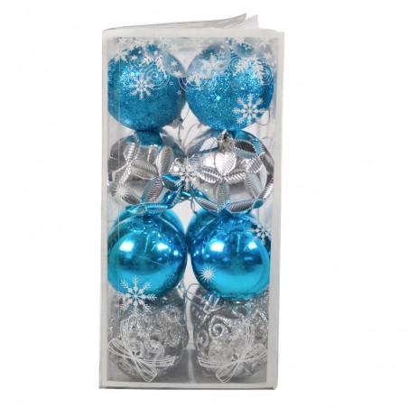 Boule de Noël pour sapin- Lots de 16 boules