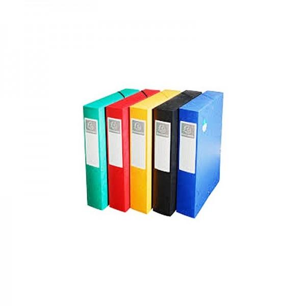 BOITE CLASSEMENT DOS 60 EXABOX ASSORTIE