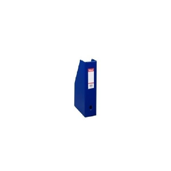 BOITE CLASSEUR PVC PLIABLE DOS 100 MM BLEU