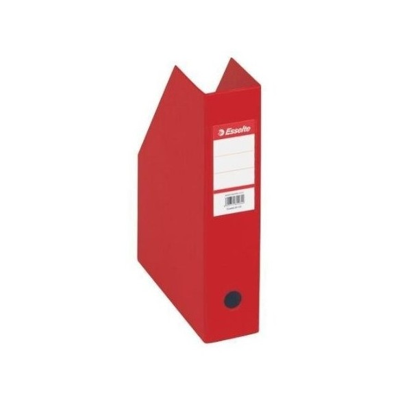 BOITE CLASSEUR PVC PLIABLE DOS 100 MM ROUGE