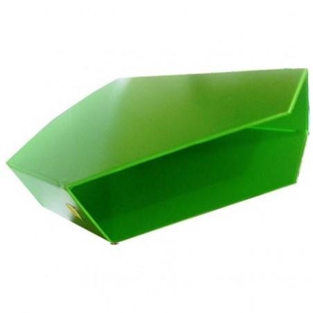 BOITE CLASSEUR PVC PLIABLE DOS 100 MM VERT