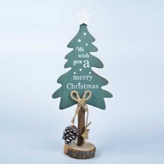 Grand sapin de Noël en bois- 32 Cm