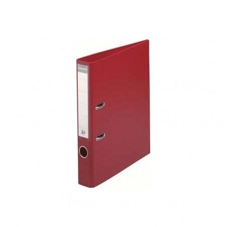 CLASSEUR A LEVIER PVC S P DOS 50MM ROUGE