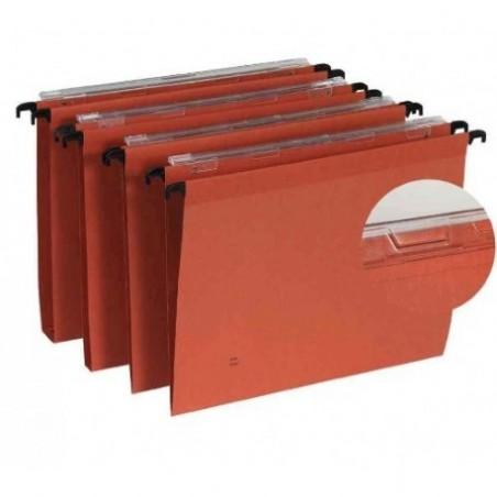 DOSSIER SUSPENDU TIROIR F-V KRAFT ORANGE 10x202