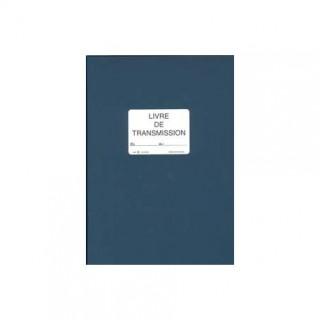 LEBON ET VERNAY SP620 REGISTRE LIVRE DE TRANSMISSION 15x1x29,7CM BLEU