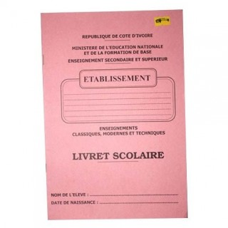 LIVRET SCOLAIRE
