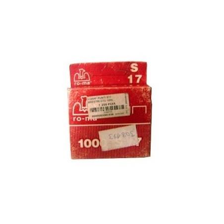 AGRAFE PUNTI S17 MAESTRI BOITE 1000. 1005418